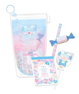 Colorful Juice Stationery Set Blue