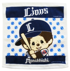 Lucky Bag Period LION monchhichi Hand Towel