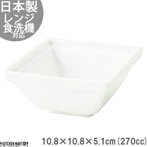 Frame White Porcelains Square Bowl Mino Ware Square
