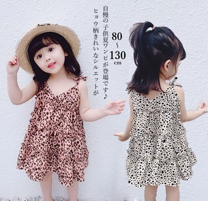 Korea Children's Clothing Band Leopard Leopard Sleeveless
