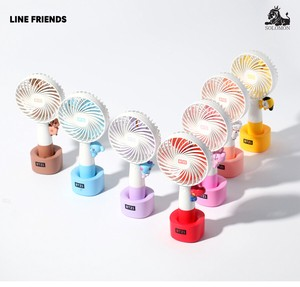 BT21 LED HANDY FAN 携帯扇風機