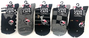 Ladies Cat Socks Cat