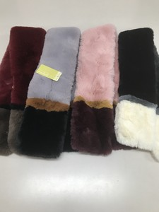 Two Tone Eco Fur Tippet