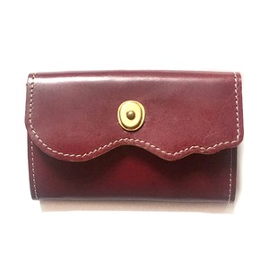 Design Cow Leather Card Case Genuine Leather