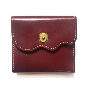 Design Cow Leather Trifold Wallet Genuine Leather