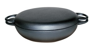 Round Universal Wood Tray Attached