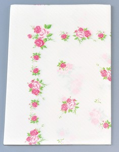 Paper Table Cover 4 Pcs Rose