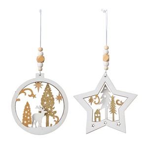 Assort Ornament 2 Pcs