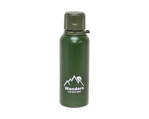 Stainless bottle Khaki Heat Retention Cold Insulation Water Flask To Drink Type