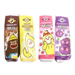 Korea Star Milk Pencil Case Milk Carton Stationery Stationery