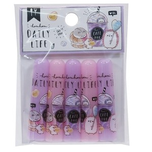 Pencil Cap Daily Life Pencil Cover 5 Pcs Set
