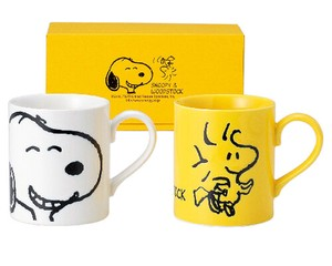 Snoopy Wood Mug Set
