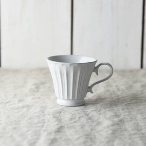 Scrunchy Lace Coffee Cup Stick White MINO Ware