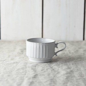 Scrunchy Lace Stack Coffee Cup Stick White MINO Ware