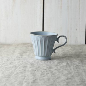 Scrunchy Lace Coffee Cup Blue MINO Ware