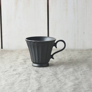 Scrunchy Lace Coffee Cup Crystal Black MINO Ware