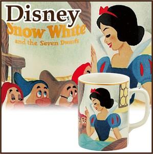 【特価品】【ディズニー】3220 マグカップ(白雪姫)〈ゴールデンブックス〉