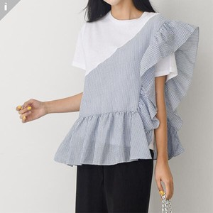 Frill Short Sleeve Top T-shirt