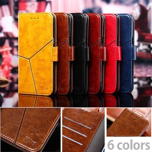 Vintage Dyeing Notebook Type iPhone Stand Effect Card Storage