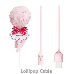 USB Cable Candy Smartphone 3 Types 6 Pcs Set