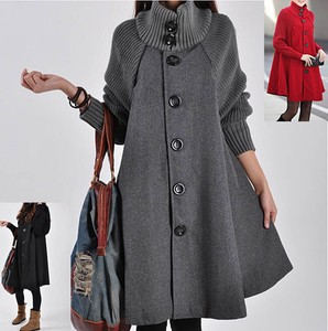 A/W Coat Knitted Cardigan Long Sleeve Long Coat 3 Colors