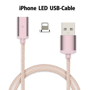 iPhone Magnet Magnet Light Cable Cable Data LED Light Attached