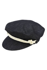 Denim Sailor Cap