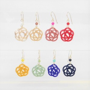 Japanese Clothing Mizuhiki Pierced Earring