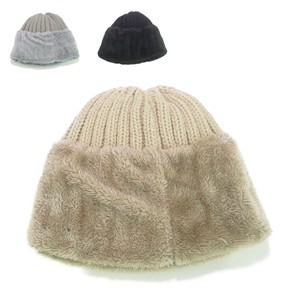 Fur Knitted Watch Cap Young Hats & Cap