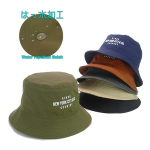 Embroidery Water-Repellent Twill BUCKET HAT Young Hats & Cap