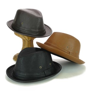 Leather Mannish Hat Young Hats & Cap Brought