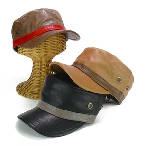 Leather Cap Young Hats & Cap