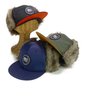 Flap Fur Cap Solid Young Hats & Cap