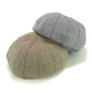 Herringbone Checkered Panel Beret Ladies Hats & Cap