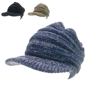Earth Color Knitted Young Hats & Cap