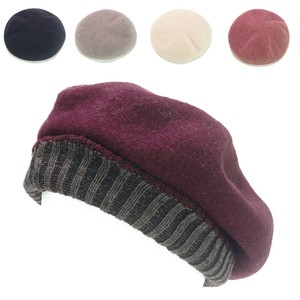 Knitted Free Microwave Oven Beret Ladies Hats & Cap