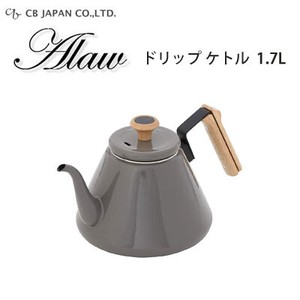 Drip Kettle Gray Enamel IH Supported Japan