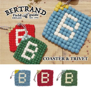 Initial Alphabet Wool Coaster Objects and Ornaments Ornament 20