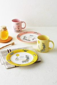 Winnie The Pooh Pair Mag Cups Plate