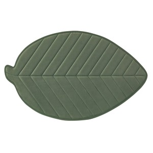 soft Leaf Mat Leaf Green