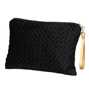Flat Pouch Strap Attached Black