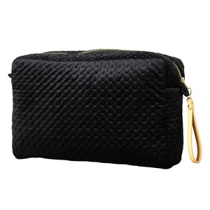 Square Pouch Strap Attached Black