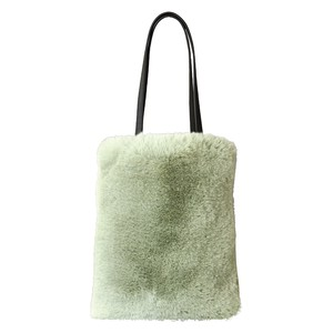 Eco Fur Slim Bag Leaf Green