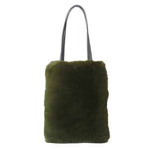 Eco Fur Slim Bag Khaki
