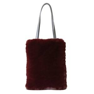 Eco Fur Slim Bag Bordeaux