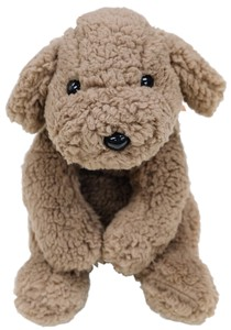 Toy Poodle Fluffy Soft Toy