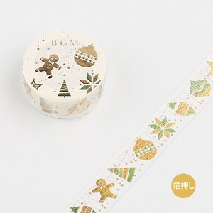 Christmas Washi Tape Foil Stamping Ornament