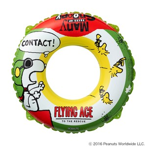SNOOPY SWIM RING 120 AG