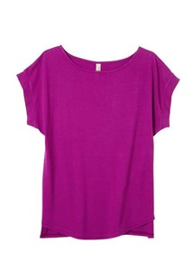 Organic Cotton Jersey Stretch Top