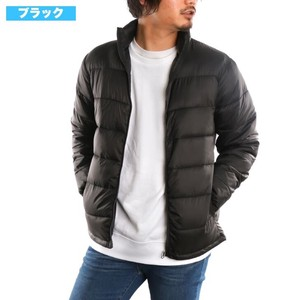 Nylon Insulated Jacket Down Light-Weight High Neck Light Down